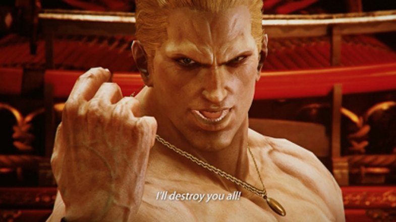 Fatal Fury Geese Howard Enter TEKKEN 7 Ring