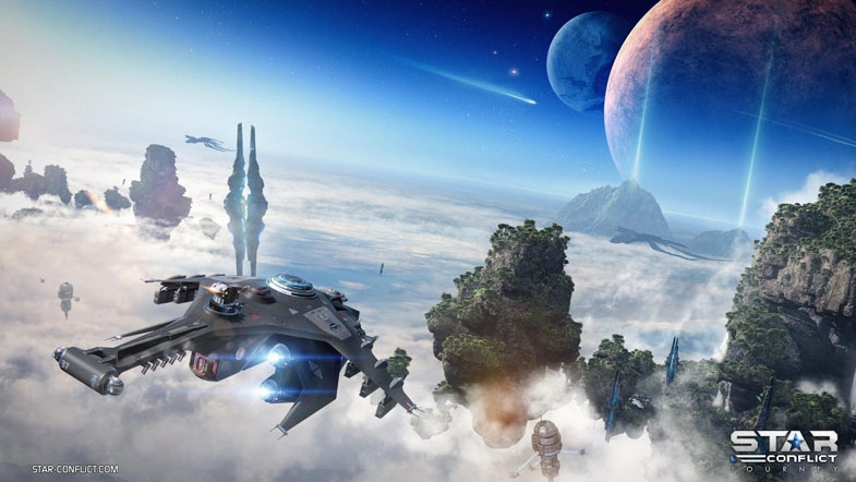 Journey: Star Conflict Gets Campaign Progression