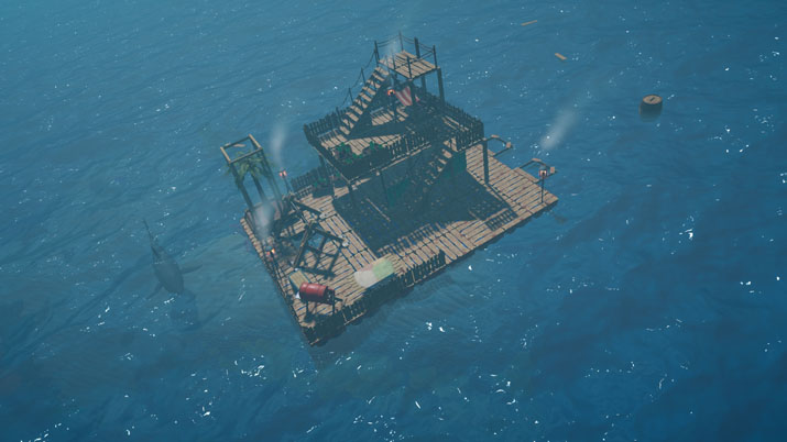Scrap Mechanic Creator Axolot Games to publish Raft - OPN | The