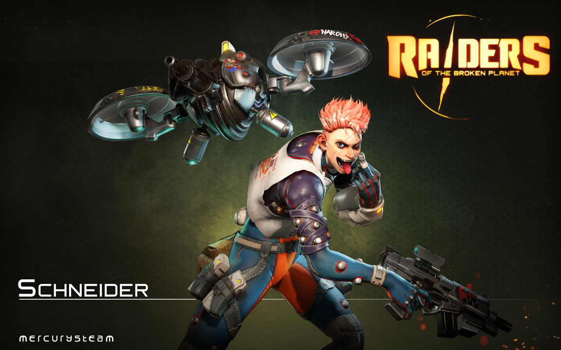 Raiders of the Broken Planet Gets Major Overhaul - OPN | The