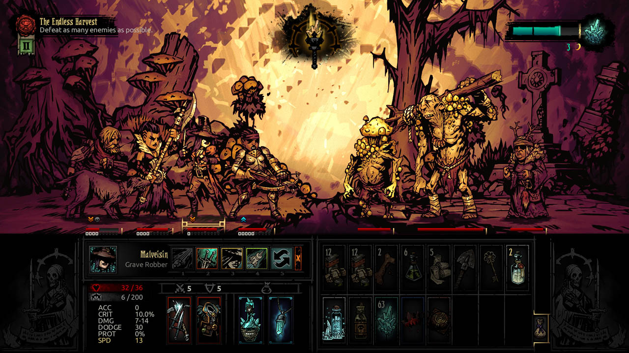 Darkest Dungeon: The Color Of Madness Review - OPN | The